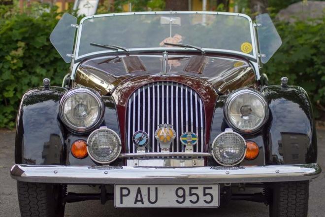 Fotografering av gamla bilar